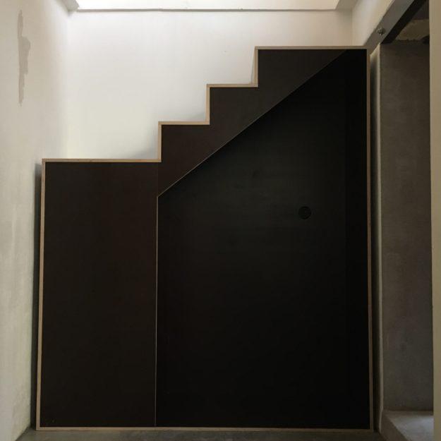 escalier cp coffrage